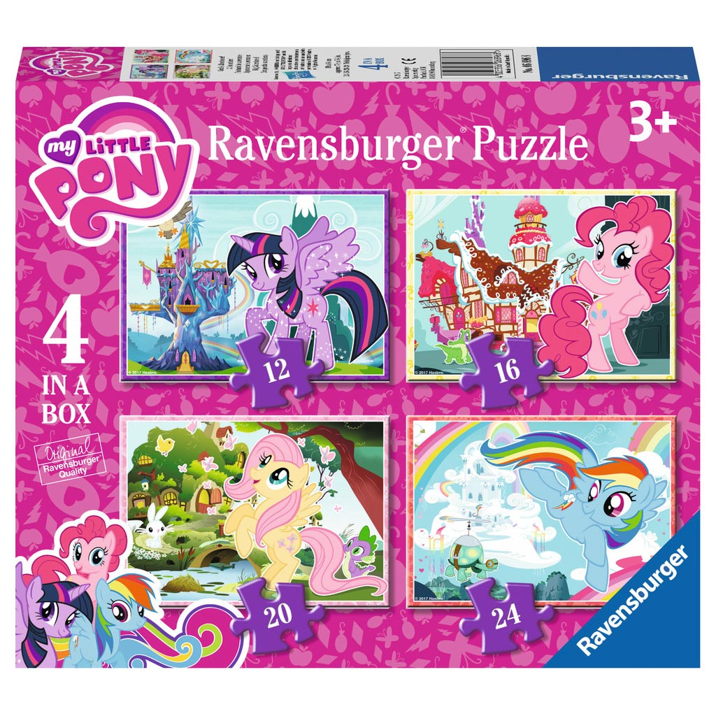 My Little Pony Puzzel, 4in1