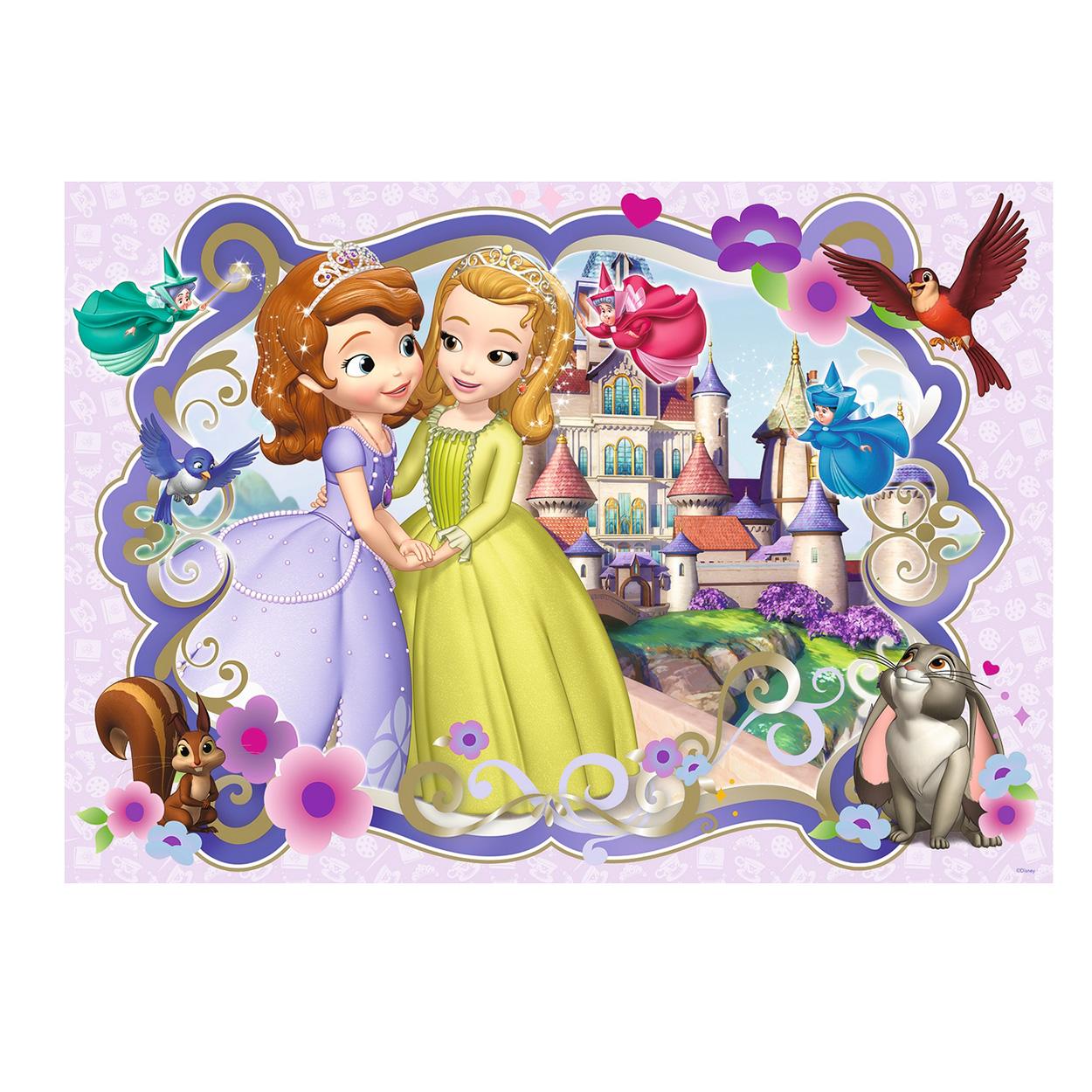 vloerpuzzel sofia het prinsesje 60st kopen