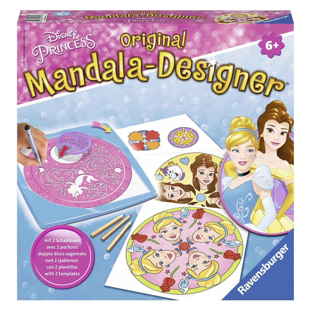 Mandala-Designer 2in1 - Disney Prinses
