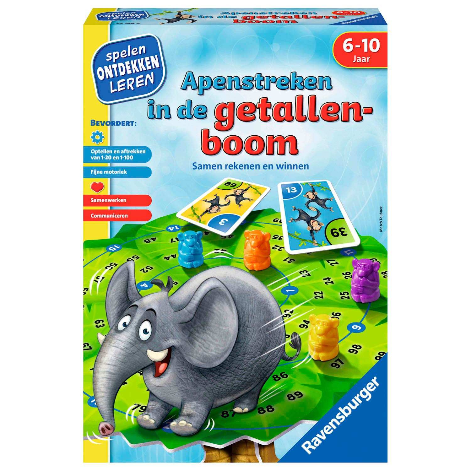 Apenstreken in de Getallenboom