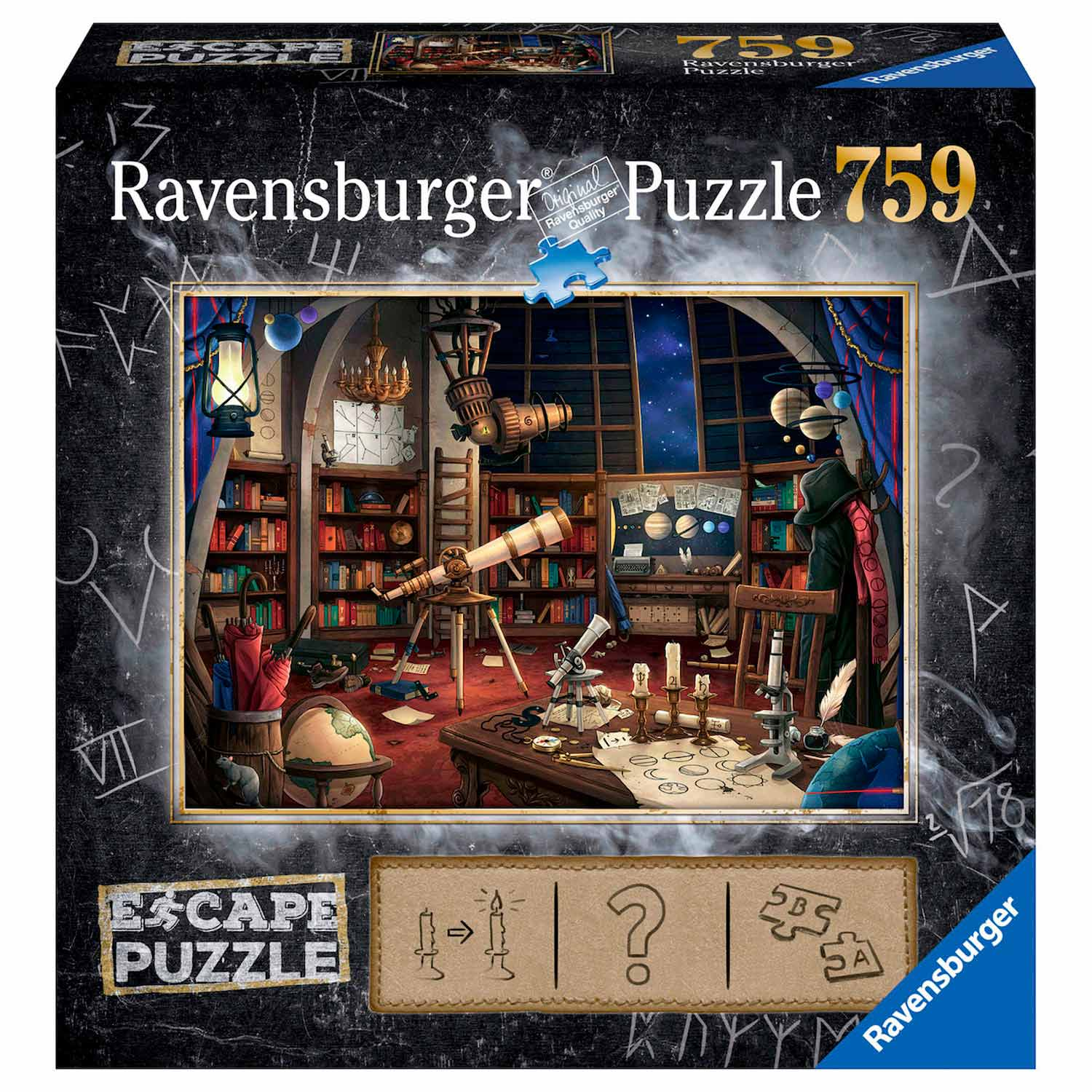 Ravensburger Escape Room Puzzel - De Sterrenwacht, 759st.