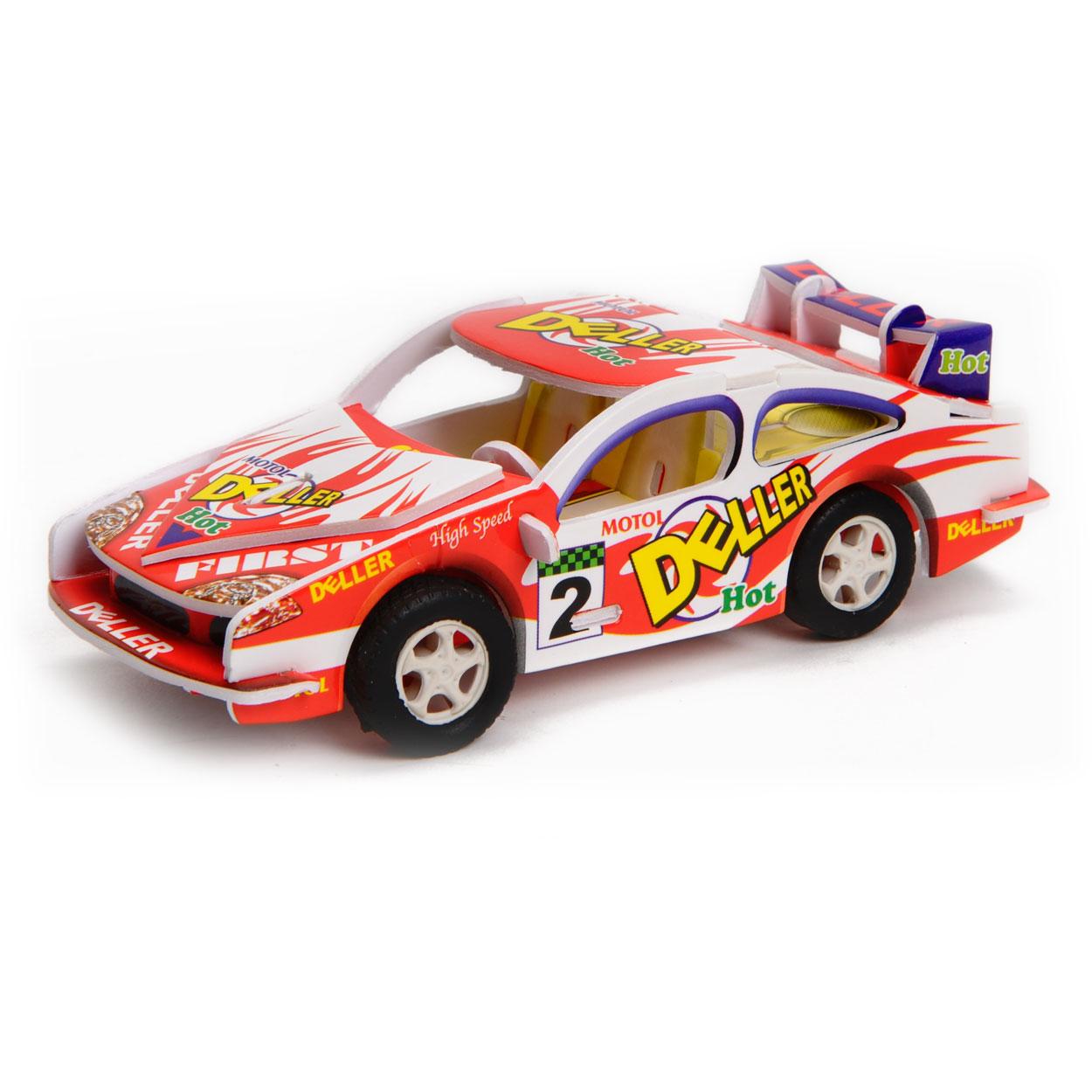 Bouwpakket 3d Raceauto Online Kopen Lobbes Nl