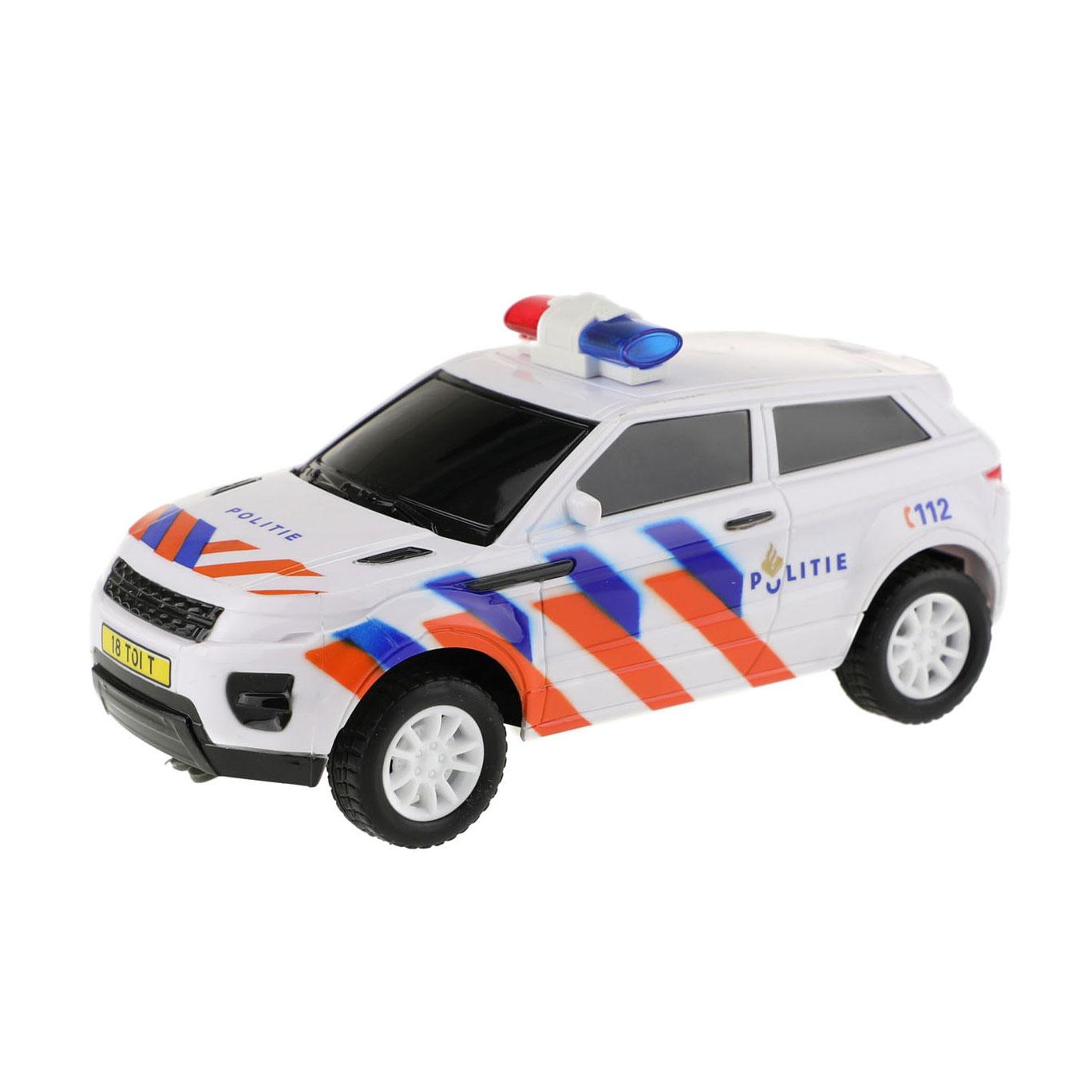 Houten Politieauto online kopen | Lobbes Speelgoed