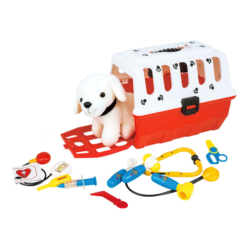 Hond in Reismand Dierenarts Speelset online kopen | Lobbes