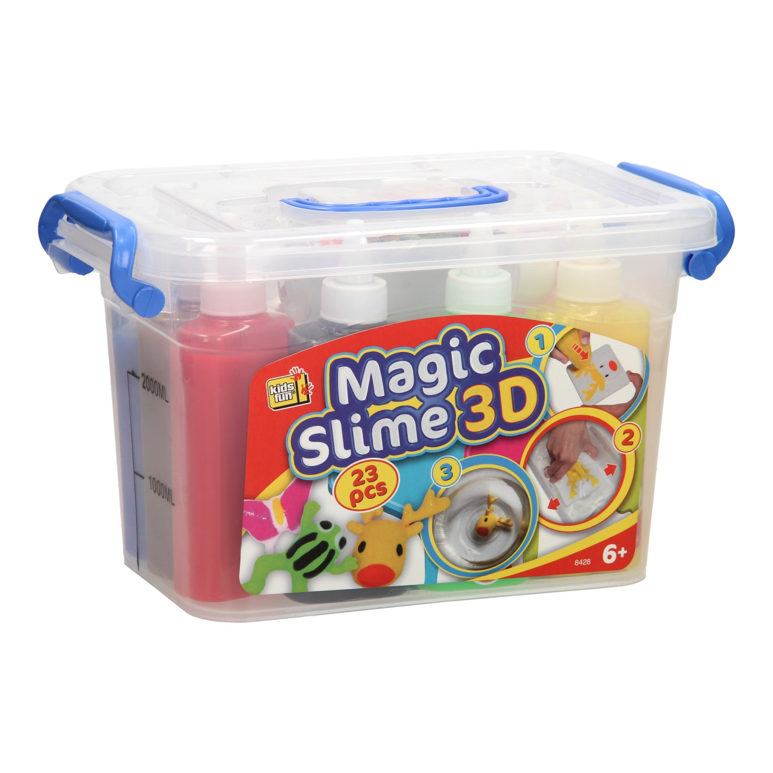 Magic Slime 3D XL, 23dlg.