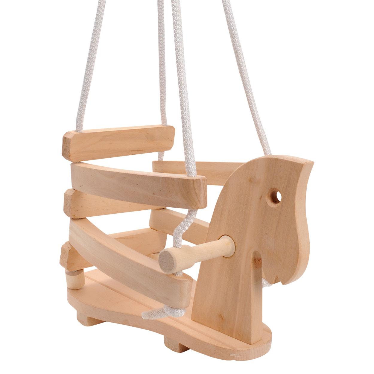 Schommel Baby Hout.Houten Schommel Paard Online Kopen Lobbes Nl