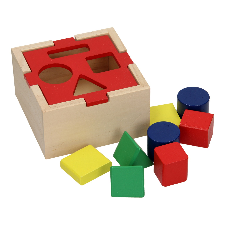 Blokkenstoof, beukenhout   Speelgoed, Voor kinderen