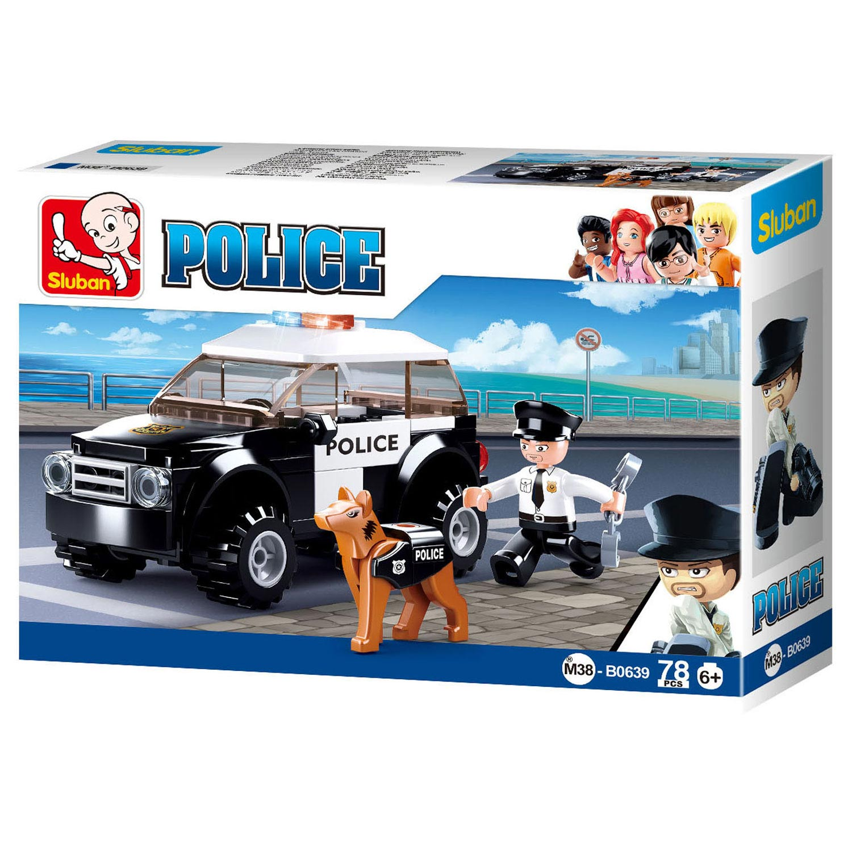 Sluban Politieauto Met Hond Online Kopen Lobbes Nl