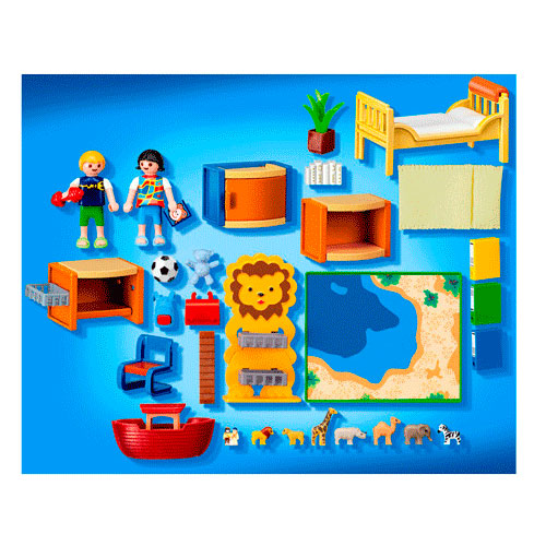 Playmobil 4287 kinderkamer met speelruimte online kopen for Playmobil kinderzimmer 4287