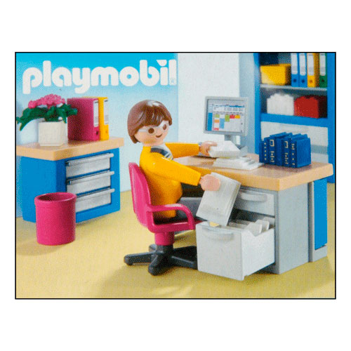 playmobil 4289 studeerkamer online kopen. Black Bedroom Furniture Sets. Home Design Ideas