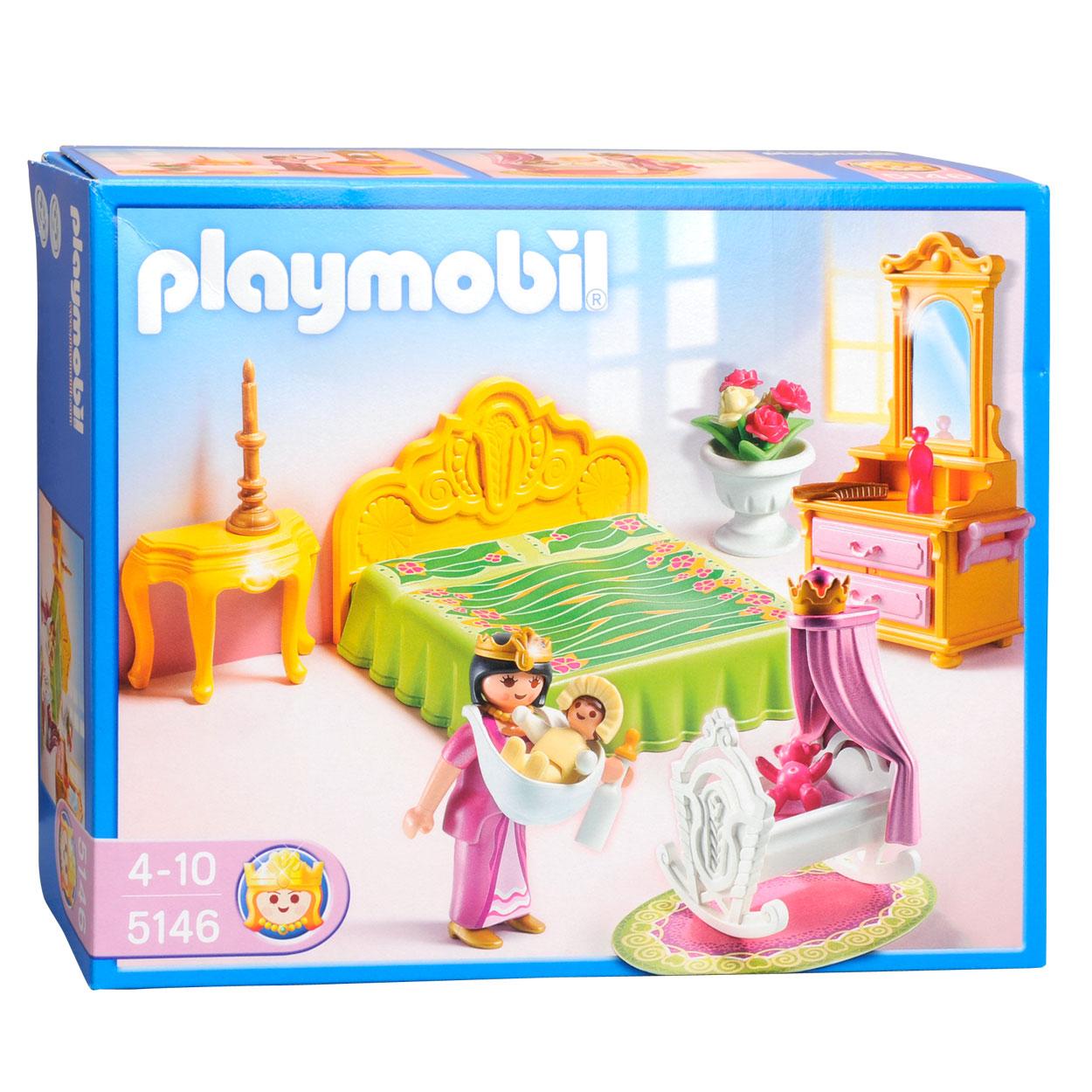 Playmobil prinsessen slaapkamer : Playmobil 5146 Slaapkamer met Wieg ...
