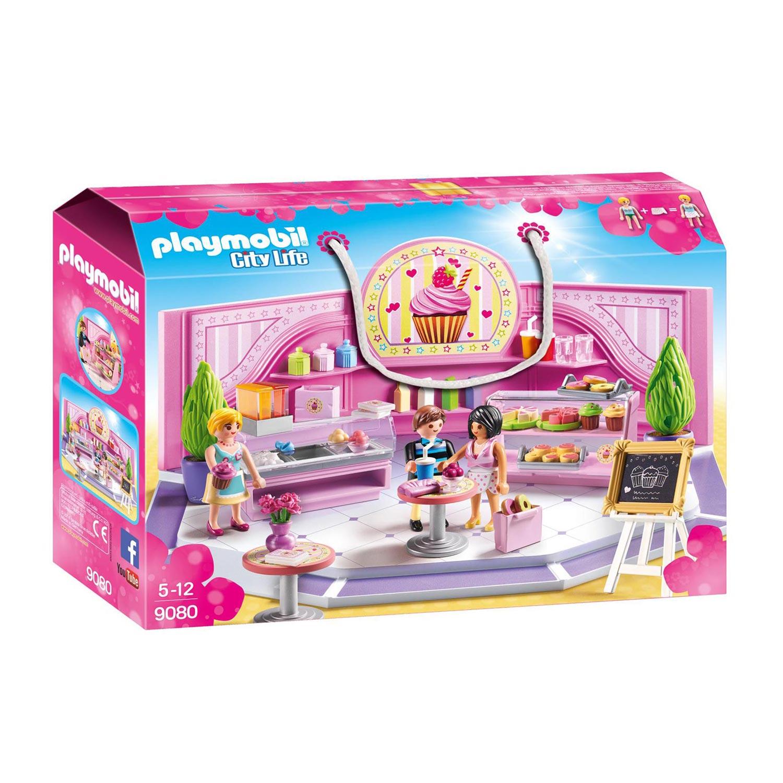 beste groothandel later gratis verzending Playmobil 9080 Taartenwinkel