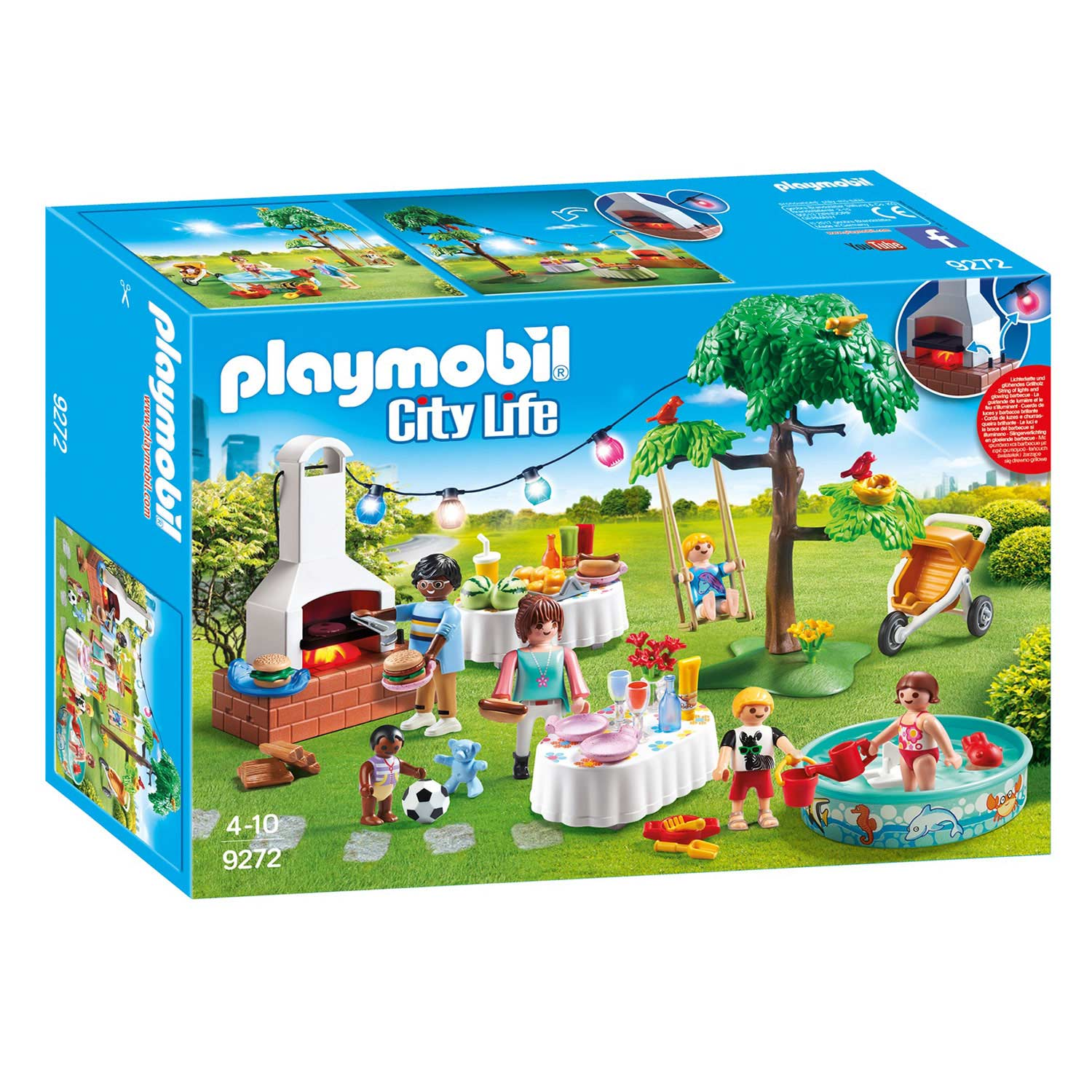Playmobil 9272 Familiefeest met Barbecue