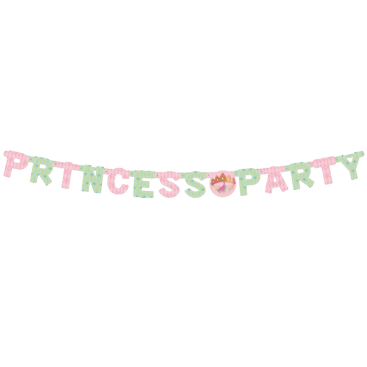 Letterguirlande Princess Party
