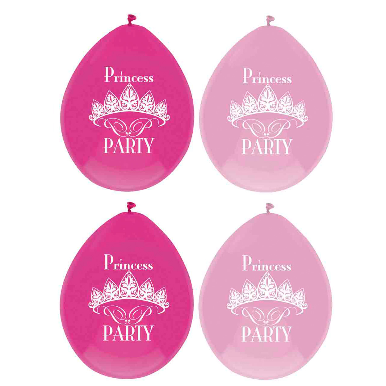 Ballonnen Princess Party, 6st.