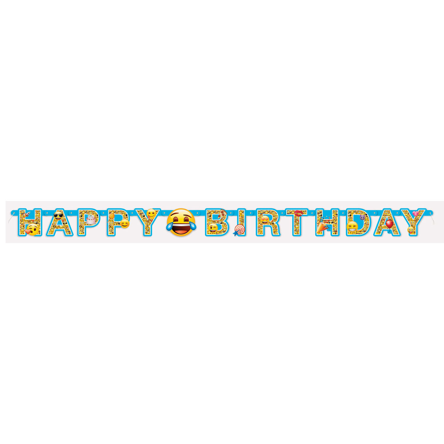 Letterslinger Emoji Happy Birthday