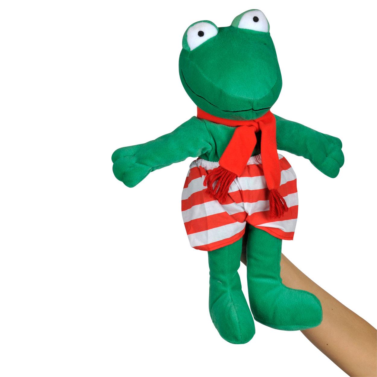 ed7e11a9542d24 Handpop Kikker online kopen | Lobbes Speelgoed