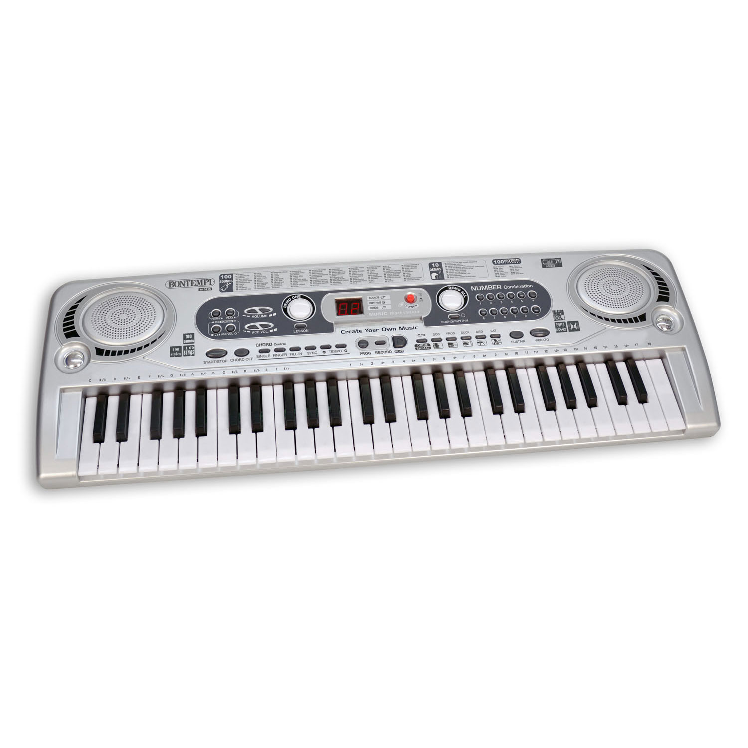 Bontempi Digitaal Keyboard, 54 Toetsen