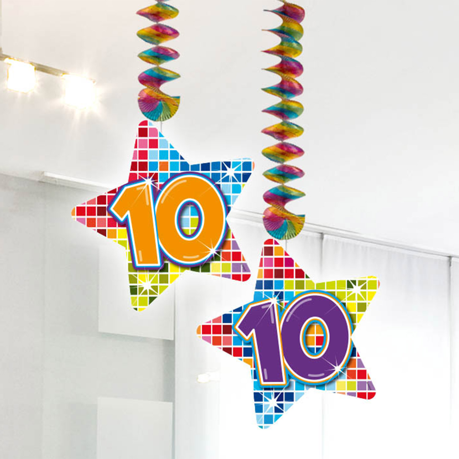 Hangdecoratie Blocks 10