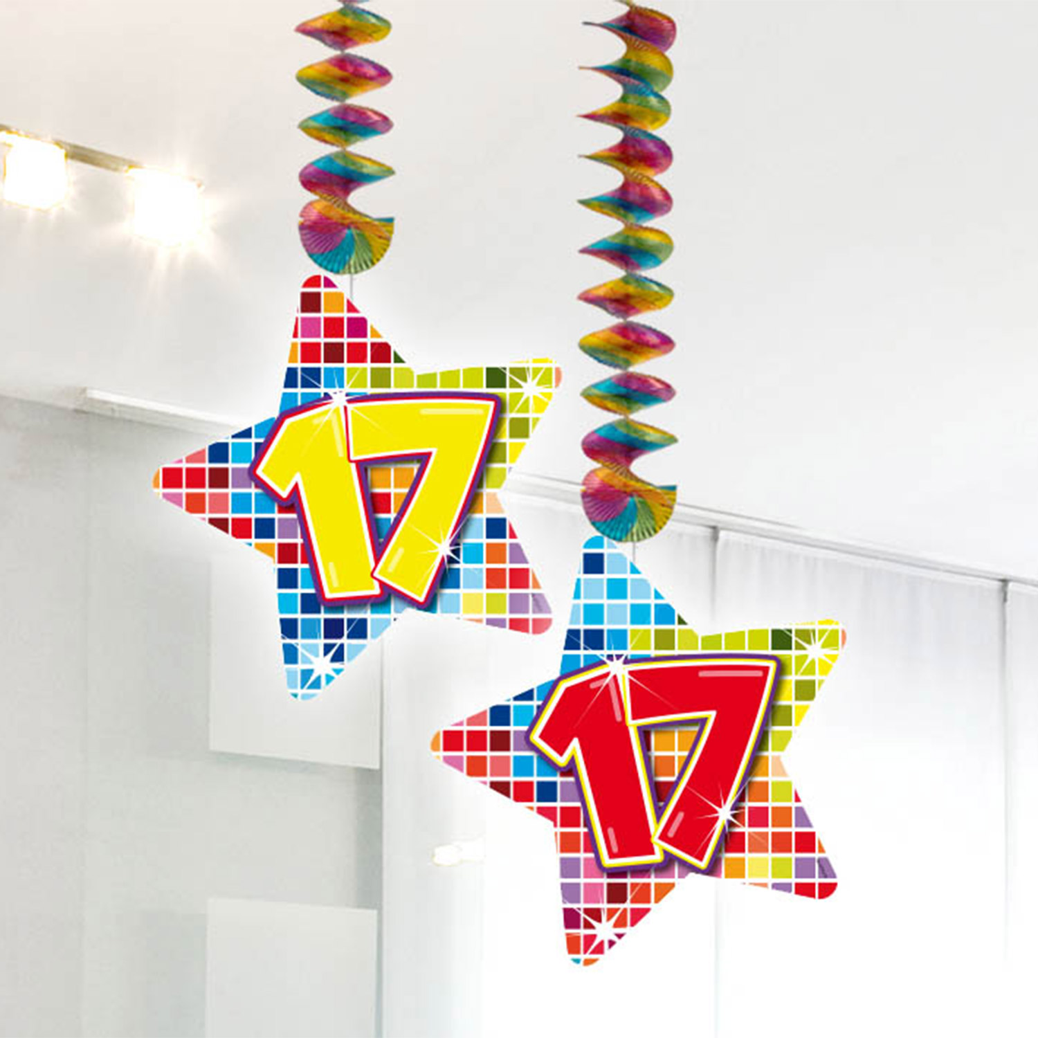 Hangdecoratie Blocks 17