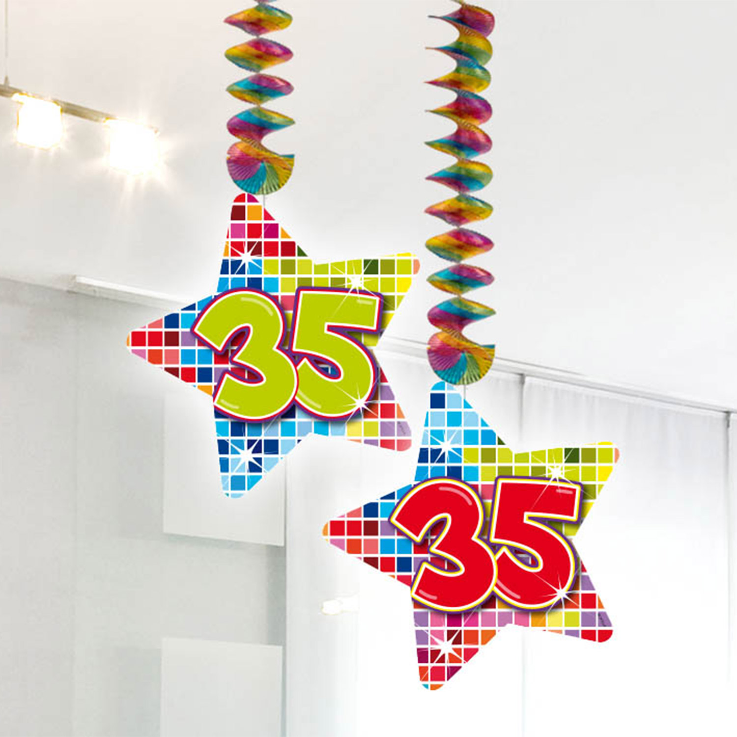 Hangdecoratie Blocks 35