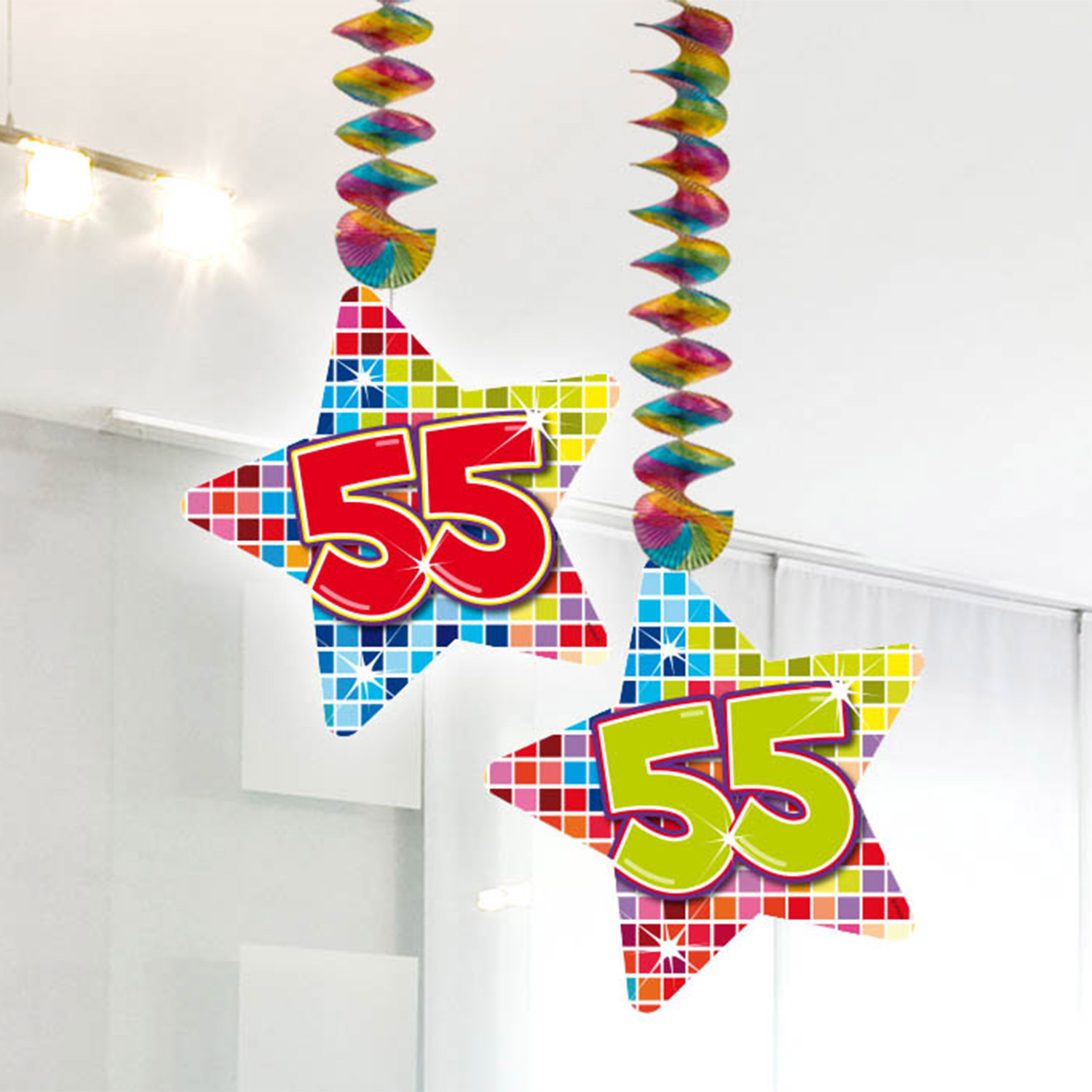 Hangdecoratie Blocks 55