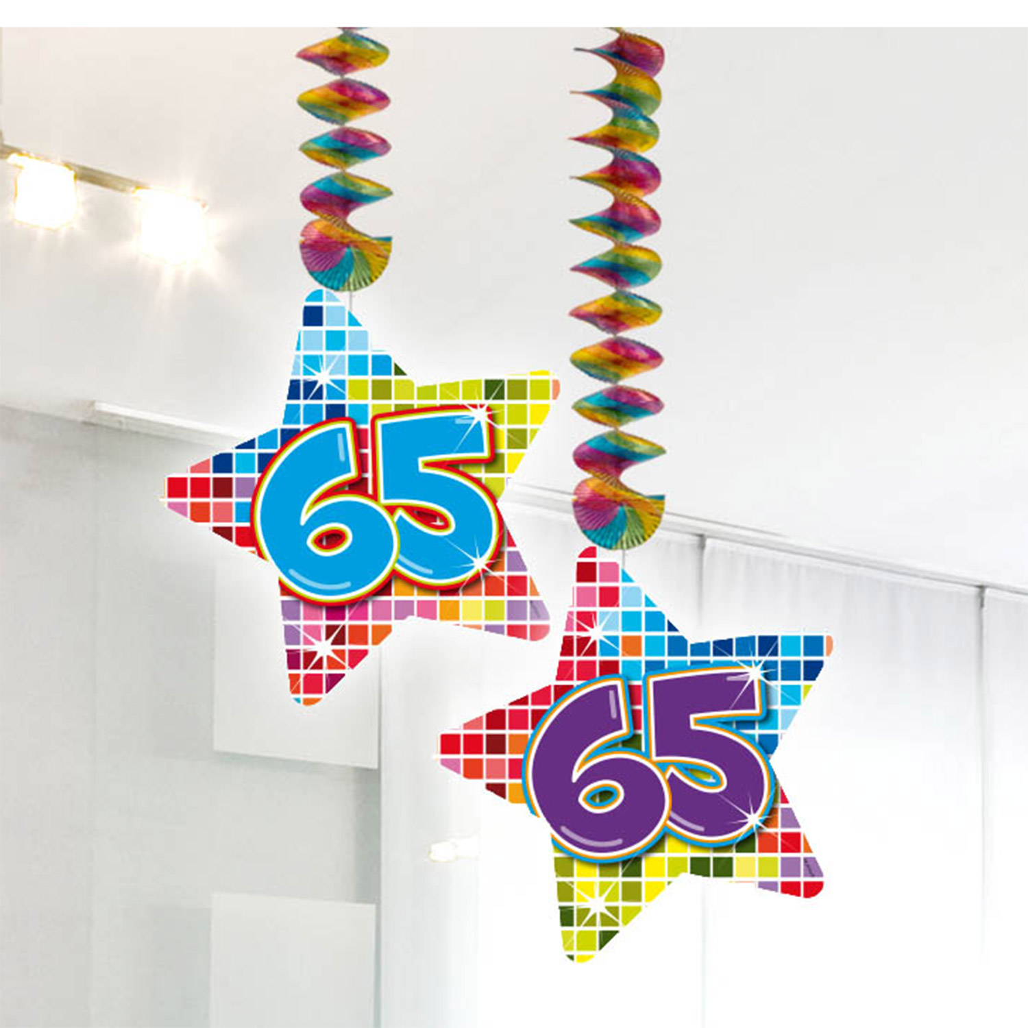 Hangdecoratie Blocks 65