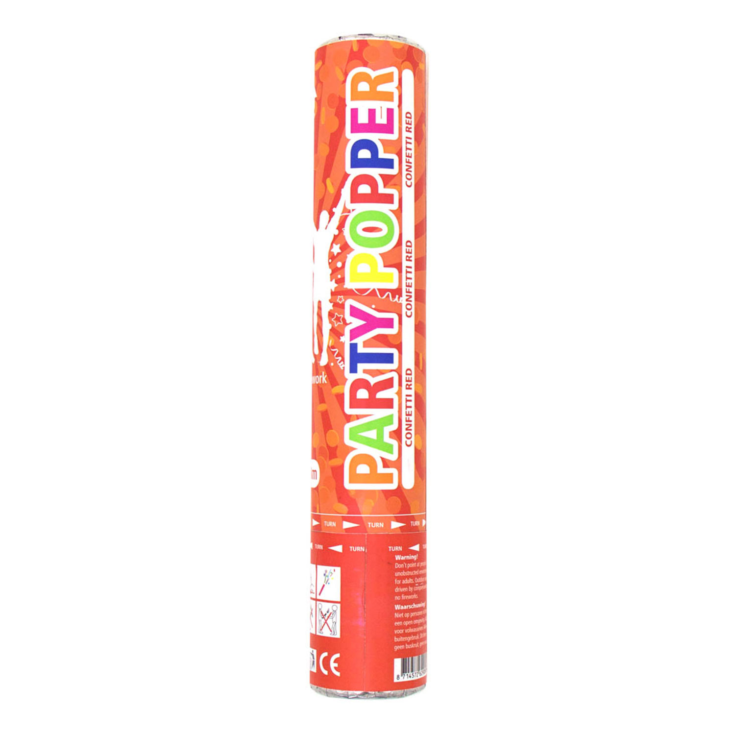 Party Popper Rood