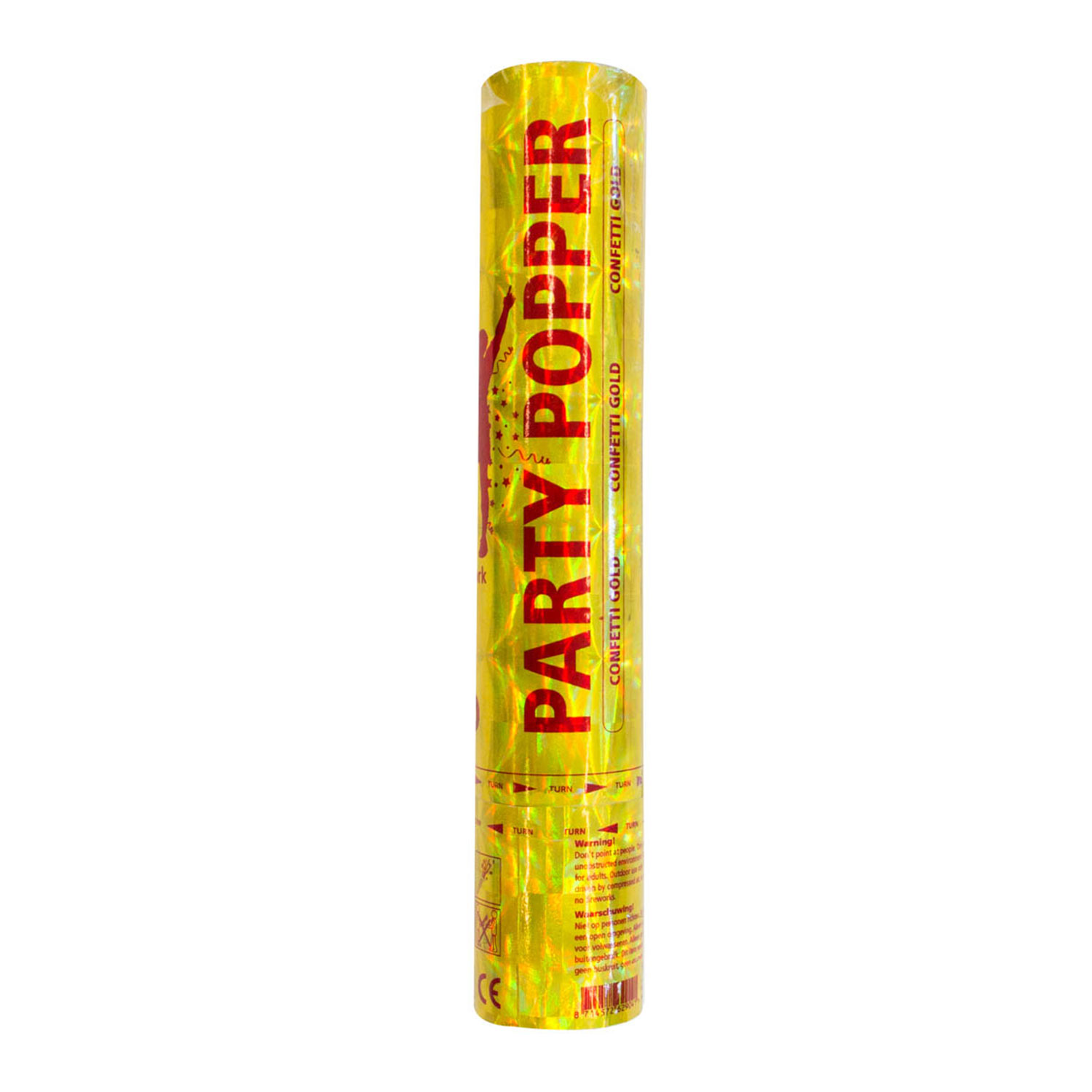 Party Popper Goud