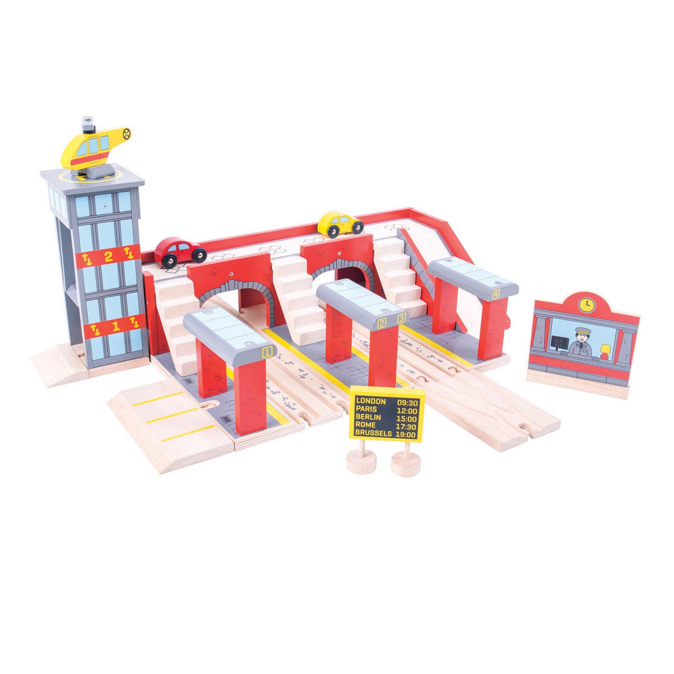 Houten Centraal Station online kopen | Lobbes Speelgoed