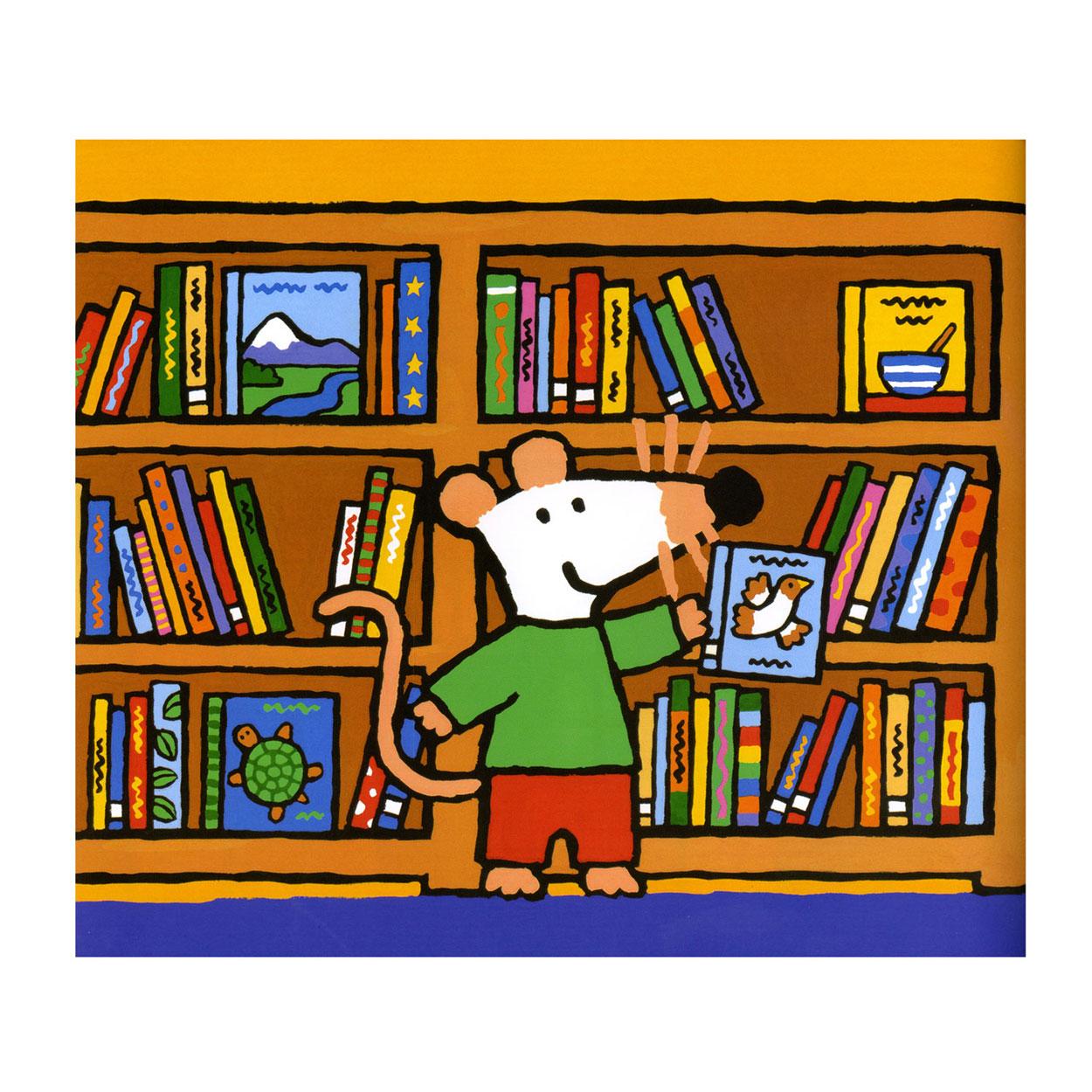 Muis in de bibliotheek online kopen - Idee bibliotheek ...