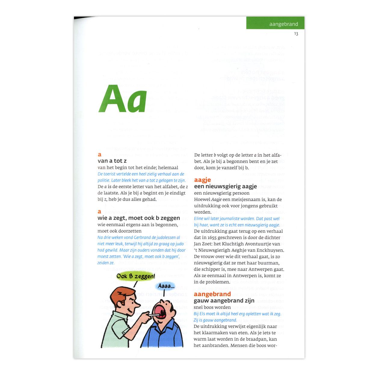 Spreekwoordenboek online