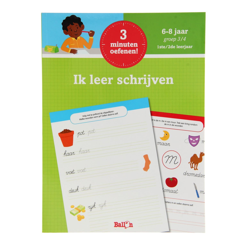 Onwijs 3 Minuten Oefenen - Ik leer Schrijven online kopen   Lobbes Speelgoed KU-11