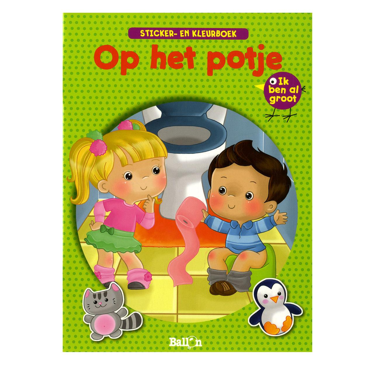 Stickerboek Op Het Potje Online Kopen Lobbes Nl