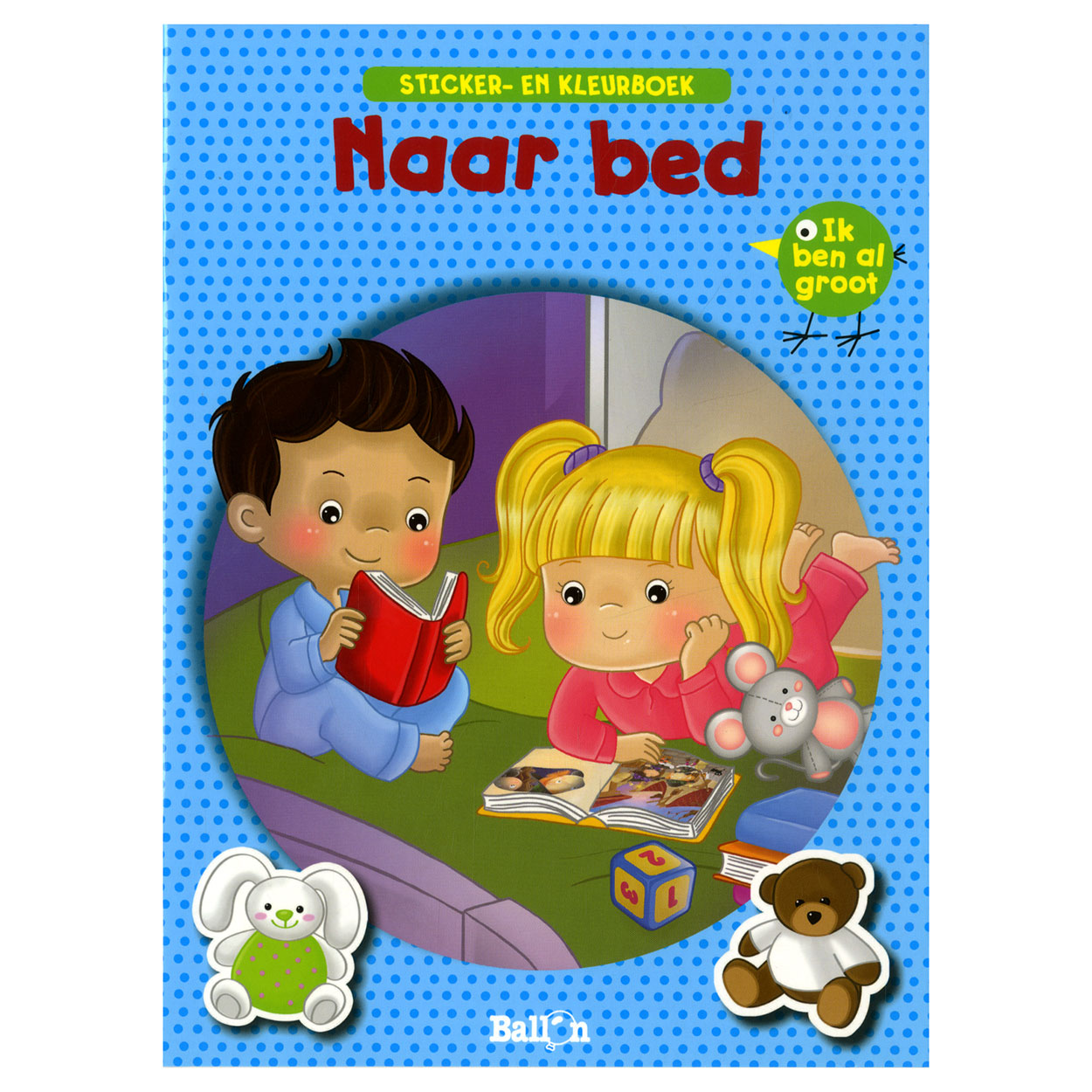 Stickerboek Naar bed