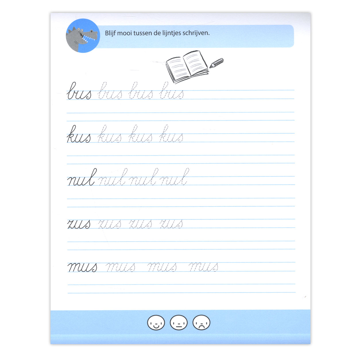 Nieuw Schrijfoefeningen - Groep 3 online kopen | Lobbes Speelgoed VK-48