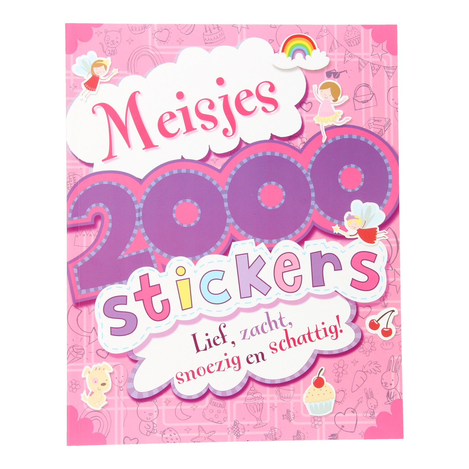 Stickerboek Meisjes, 2000 stickers
