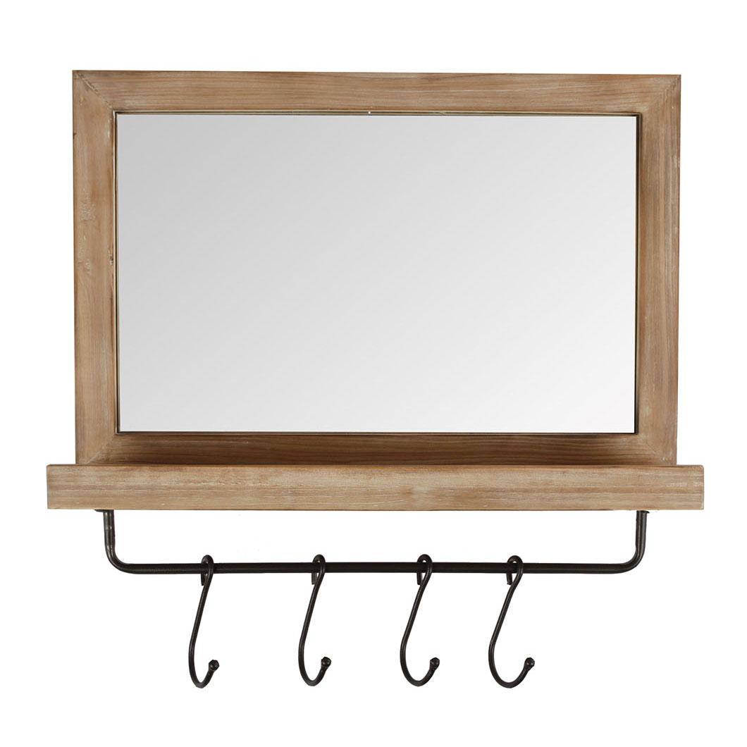 spiegel met plank en haken online kopen