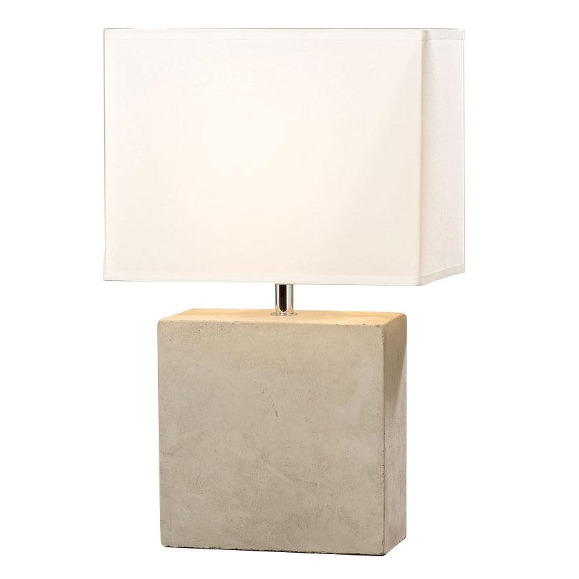 Zeer Tafellamp Betonnen Voet, 45cm online kopen | Lobbeswonen.nl @MS66
