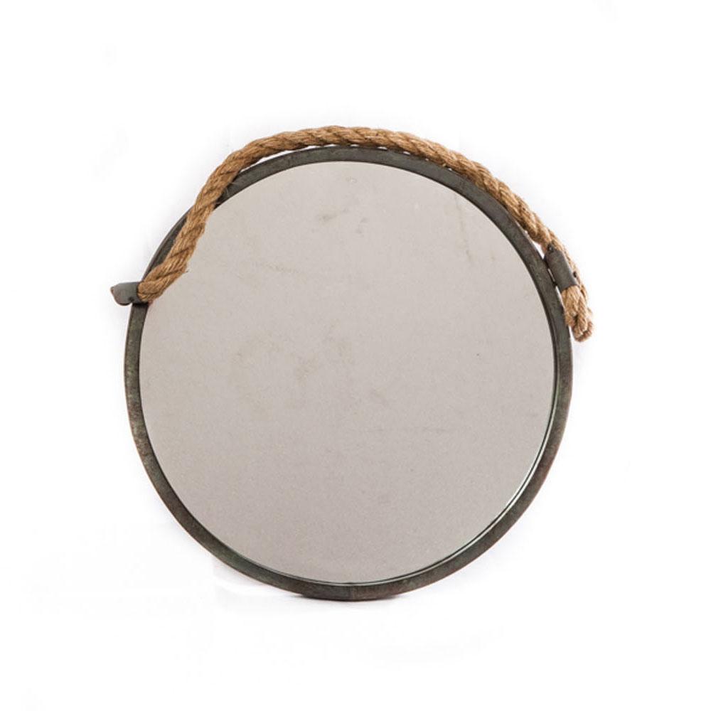 Favoriete Spiegel aan Touw Rond, 35cm online kopen | Lobbes Wonen KL21
