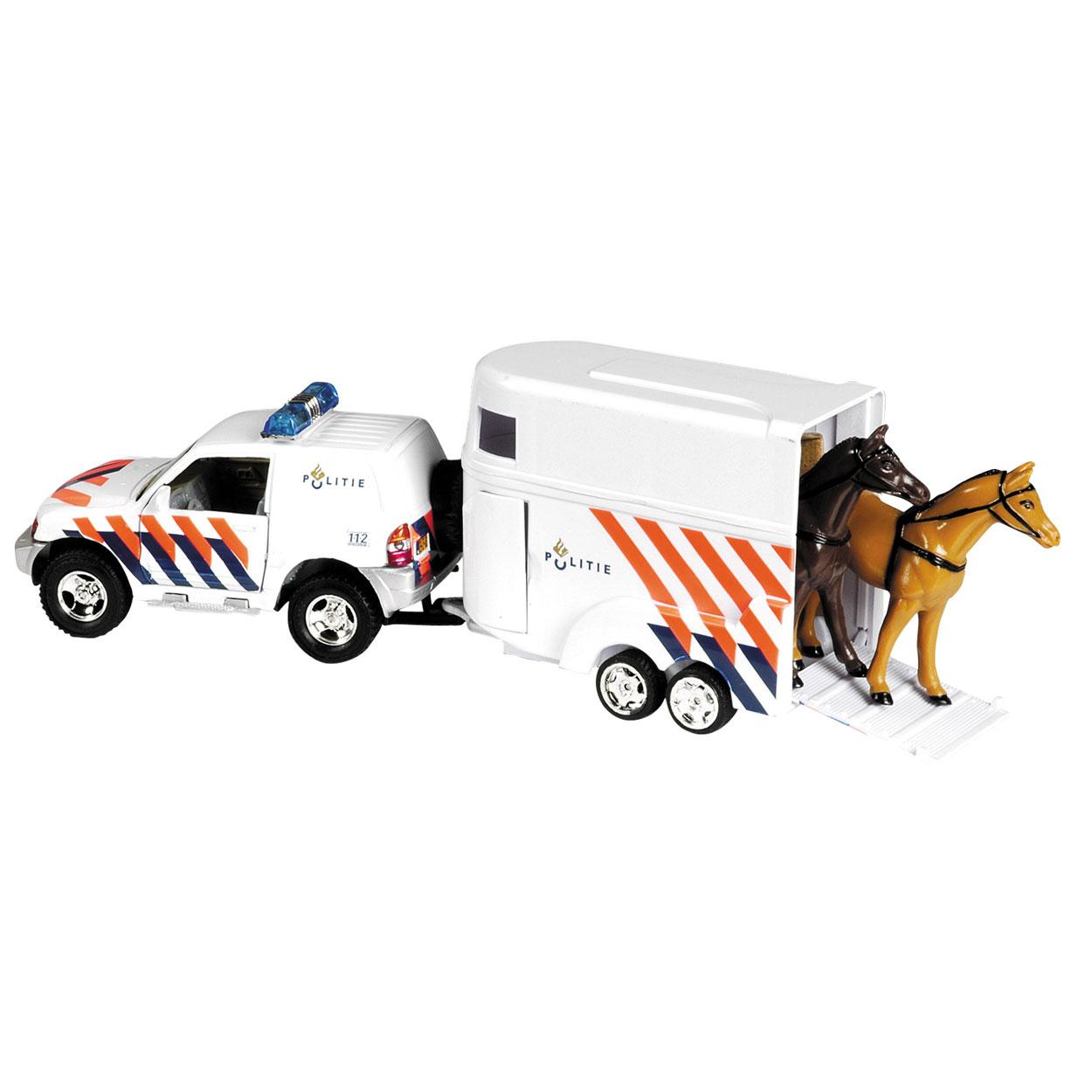 Politieauto Met Paardentrailer Online Kopen Lobbes Nl