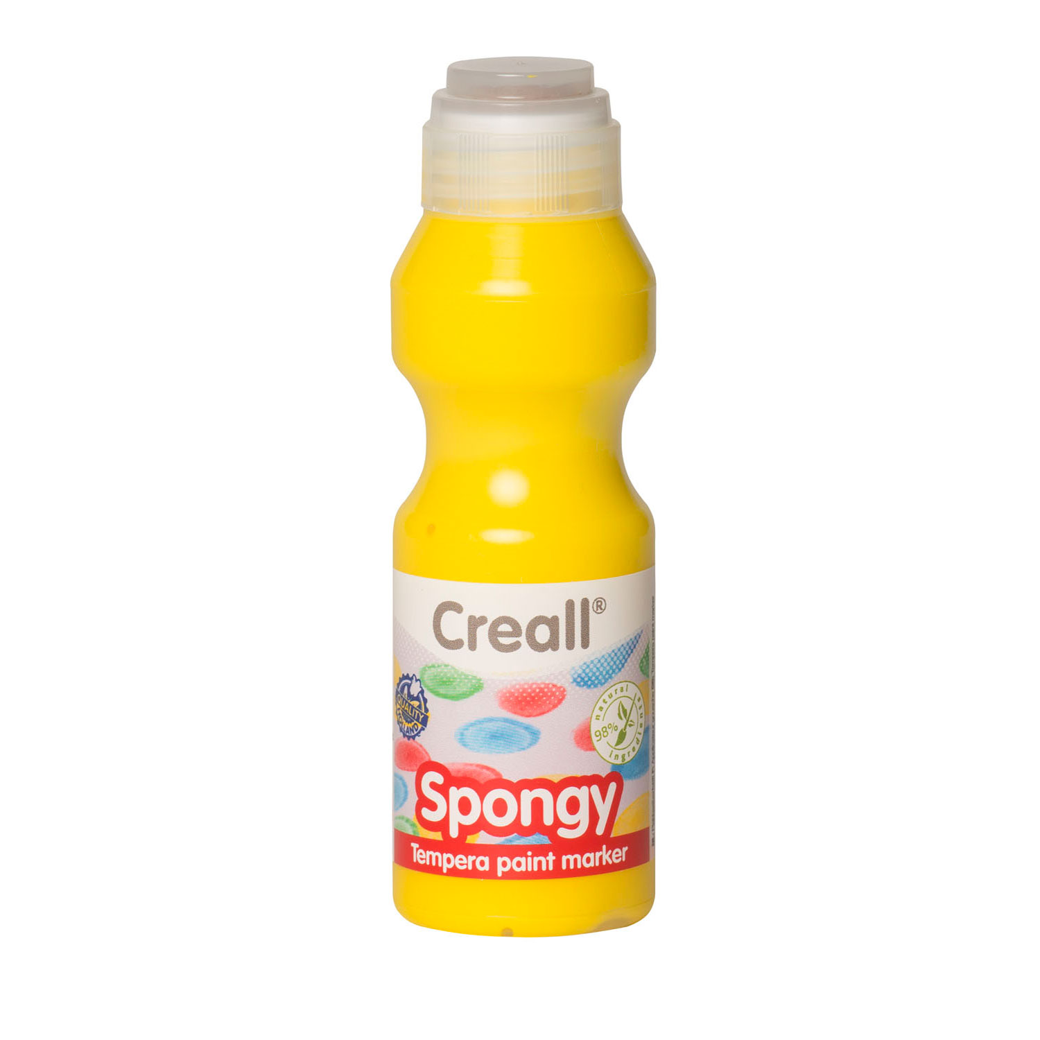 Creall Spongy Verfstift Geel, 70ml