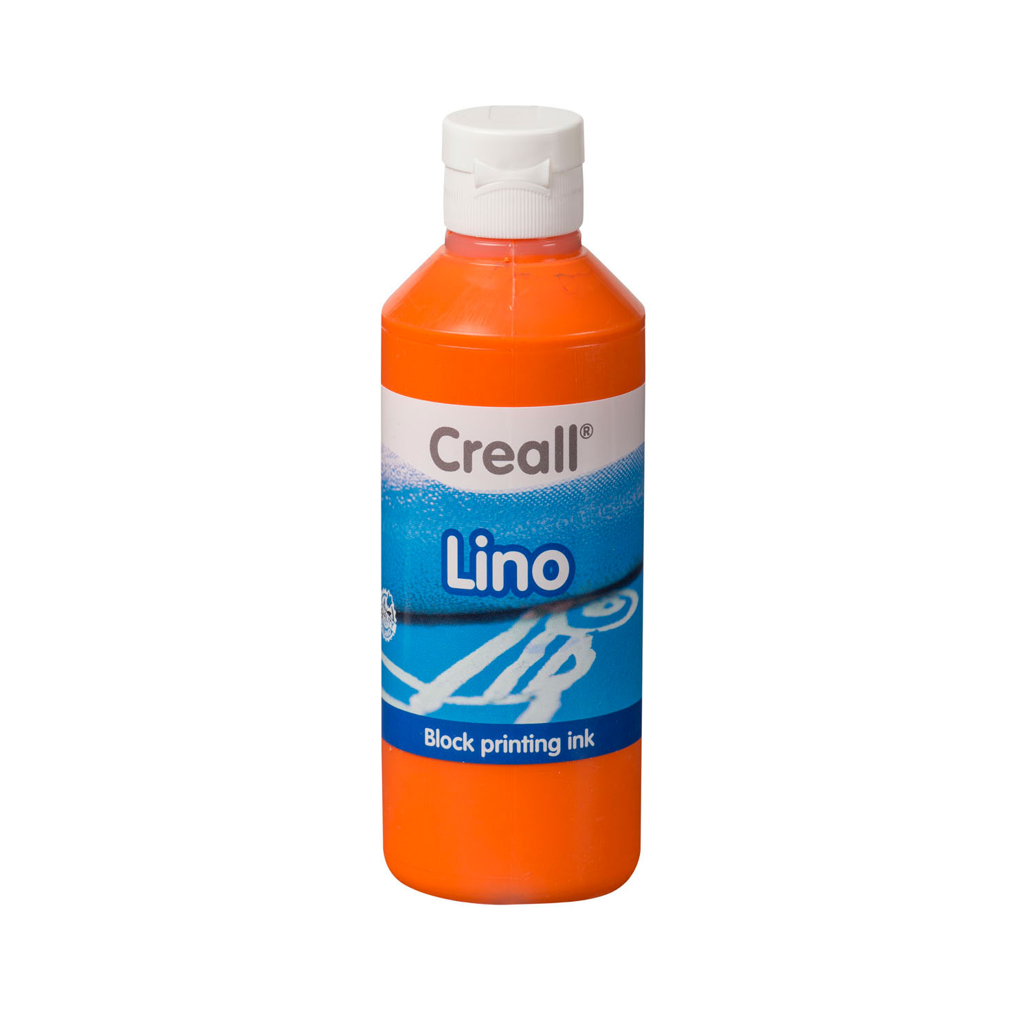 Creall Lino Blockprintverf Oranje, 250ml