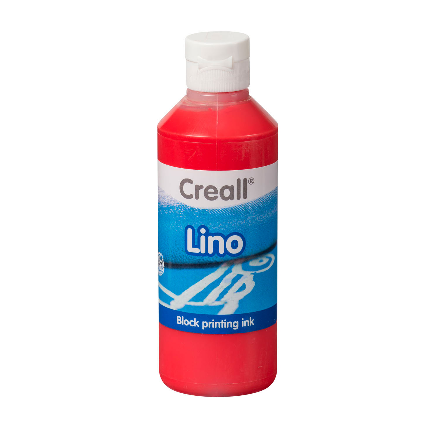 Creall Lino Blockprintverf Lichtrood, 250ml