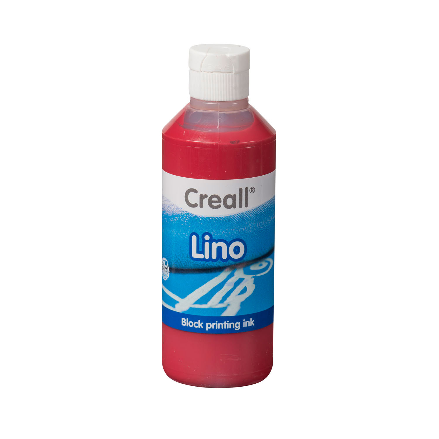 Creall Lino Blockprintverf Donkerrood, 250ml