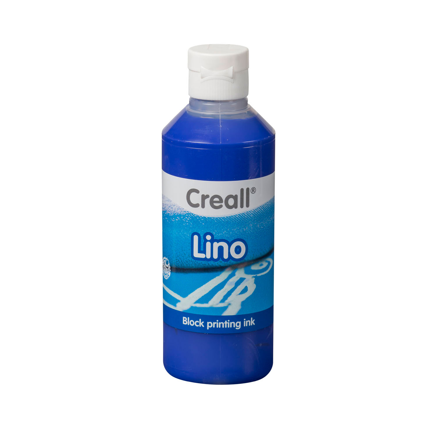 Creall Lino Blockprintverf Ultramarijn, 250ml