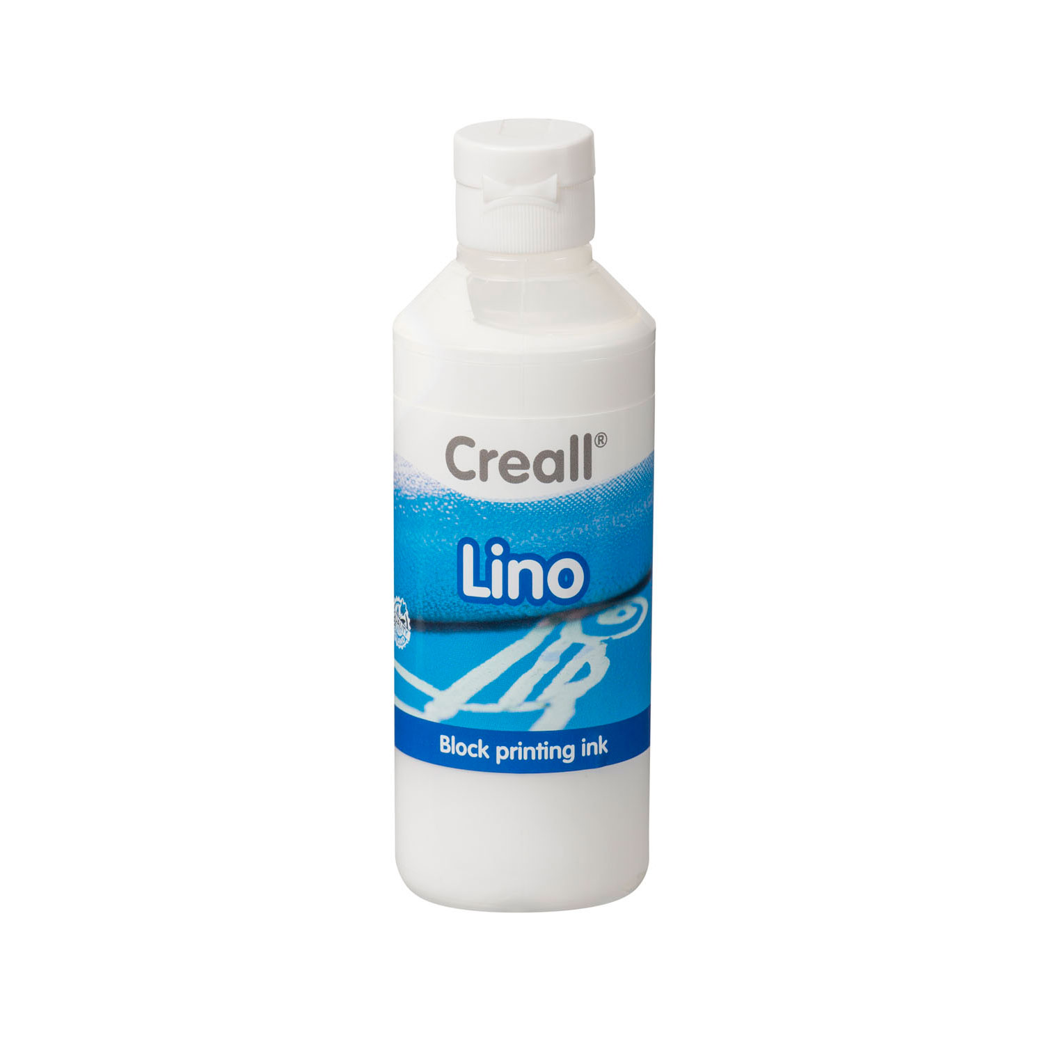 Creall Lino Blockprintverf Wit, 250ml