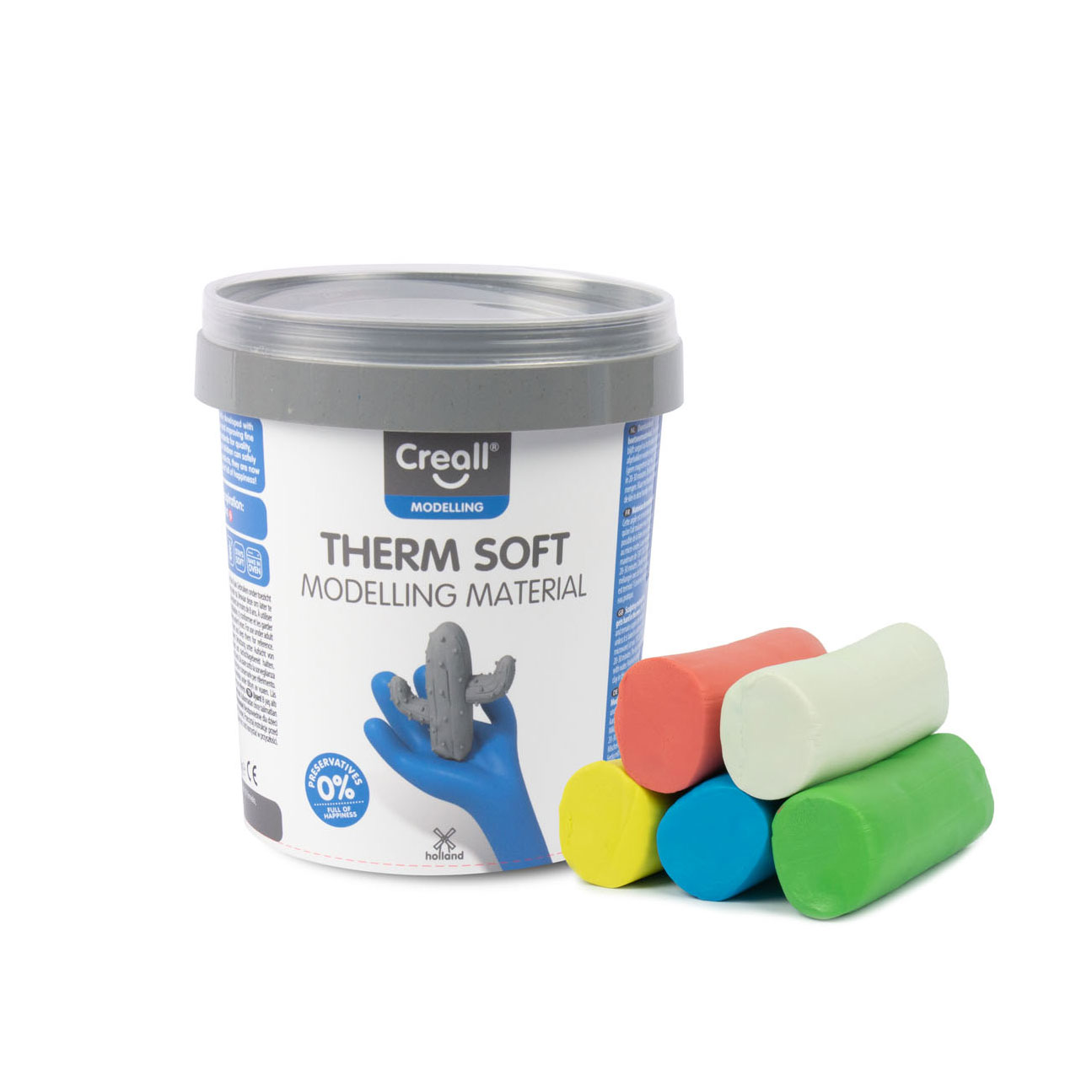 Creall Therm Soft Klei, 500gr.