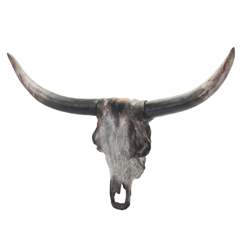 wanddecoratie bull horns online kopen lobbesnl
