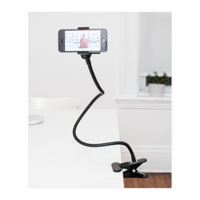 kikkerland telefoonhouder flexibel online kopen. Black Bedroom Furniture Sets. Home Design Ideas